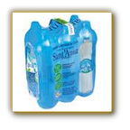 Acqua Sant'Anna naturale 6 x 150 cl, fardello cl.9000