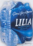 Acqua Lilia Naturale 6 x 200 cl, fardello cl. 1200